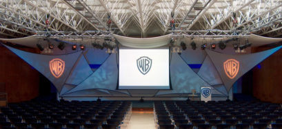 Warner Brothers awards event at an awards ceremony venue London