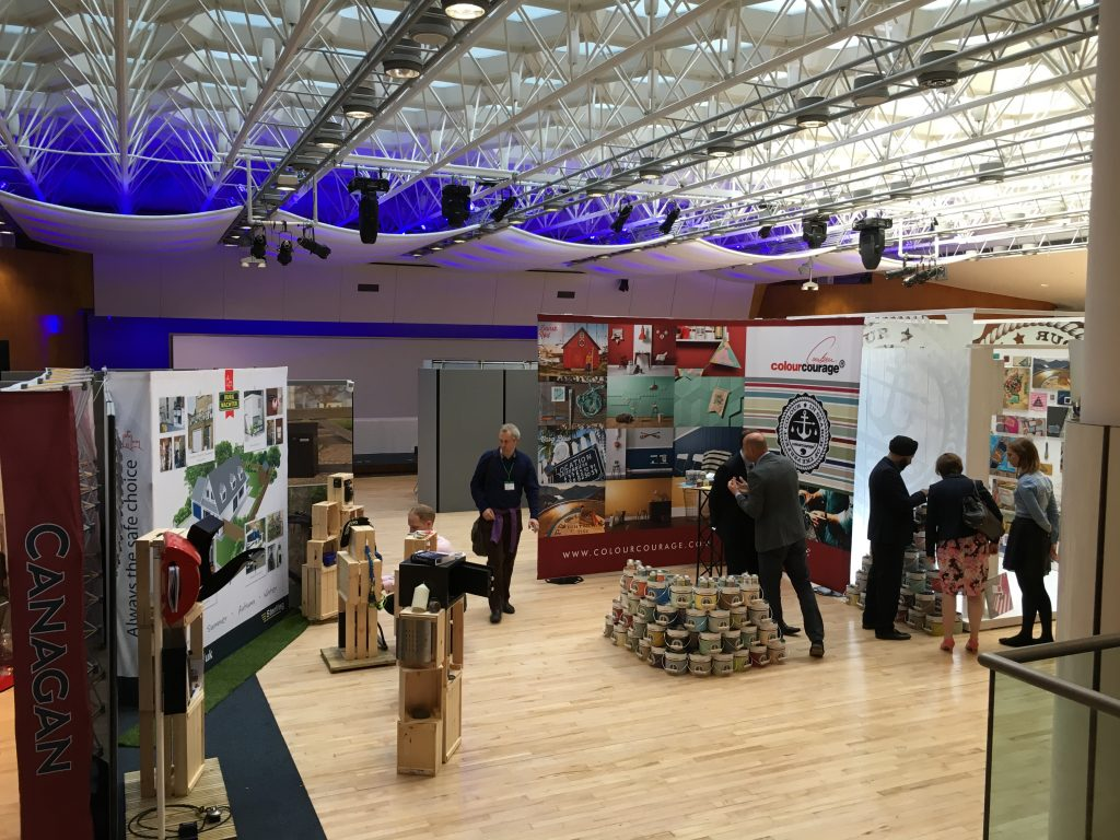 An exhibition event held in the Congress Hall
