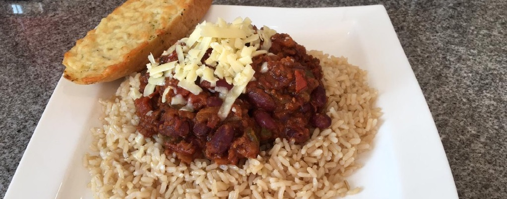 Claire's homemade chilli