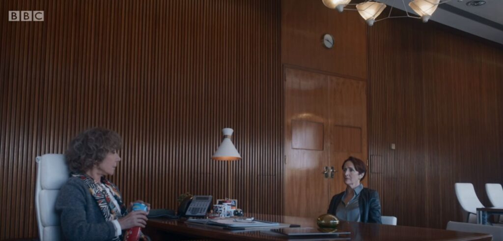 Congress Centre used as a 1950s London filming location for Killing Eve