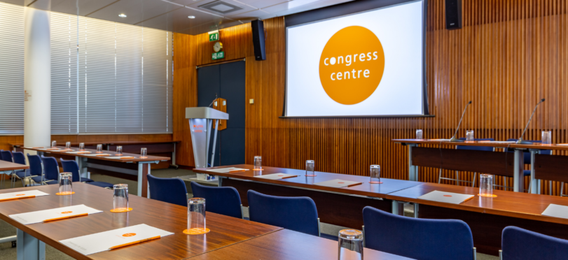 Conference room at London events venue Congress Centre